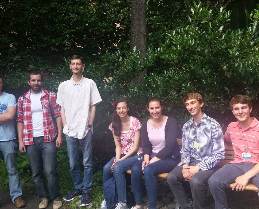 Diskin Lab post lunch, Summer 2015