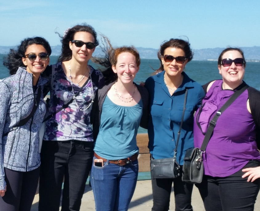 Diskin Lab Ladies in San Francisco