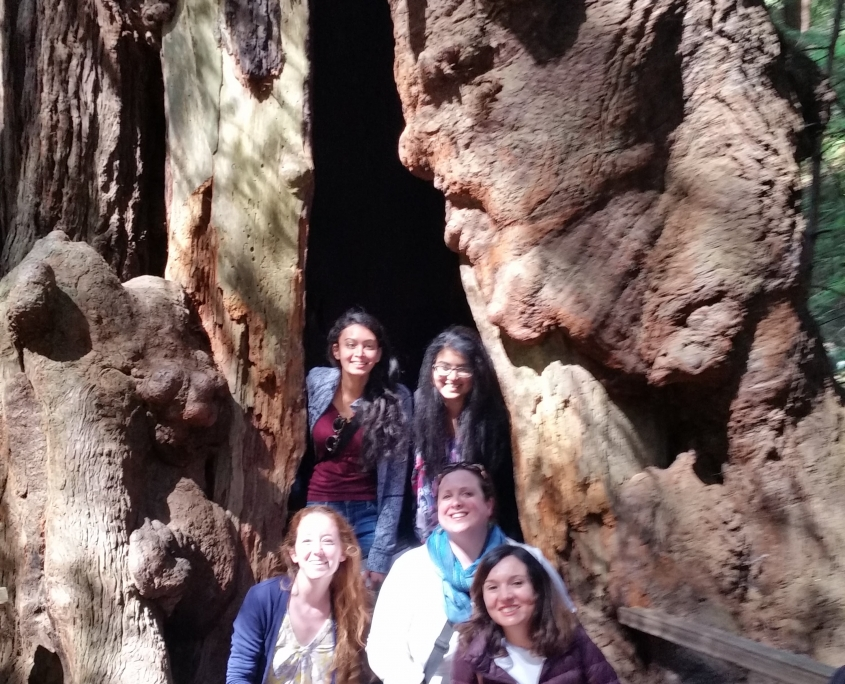Women in Redwoods